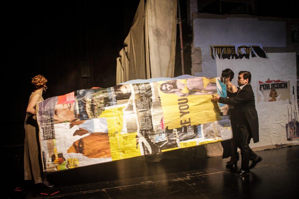 """Bühnenbild für das Oper """"Die Stimmlosen"""" - Neue Szenen III - Ivan Ivanov - Deutsche Oper Berlin - Tischlerei"""