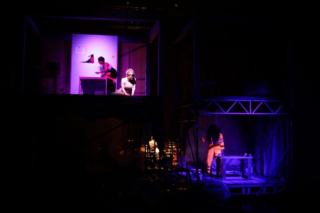 Neue Szenen III - Die Stimmlosen - Bühnenbild - Ivan Ivanov - Tischlerei der Deutschen Oper Berlin