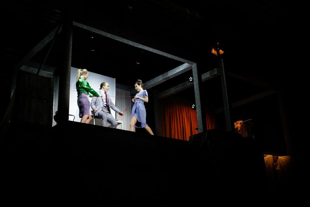 Neue Szenen III - My Corporate Identity - Bühnenbild - Ivan Ivanov - Tischlerei der Deutschen Oper Berlin