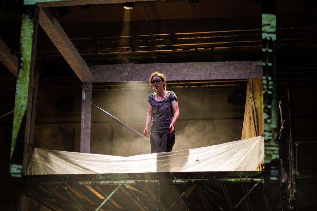 """Bühnenbild für das Oper """"Tako Tsubo"""" - Neue Szenen III - Ivan Ivanov - Deutsche Oper Berlin - Tischlerei"""
