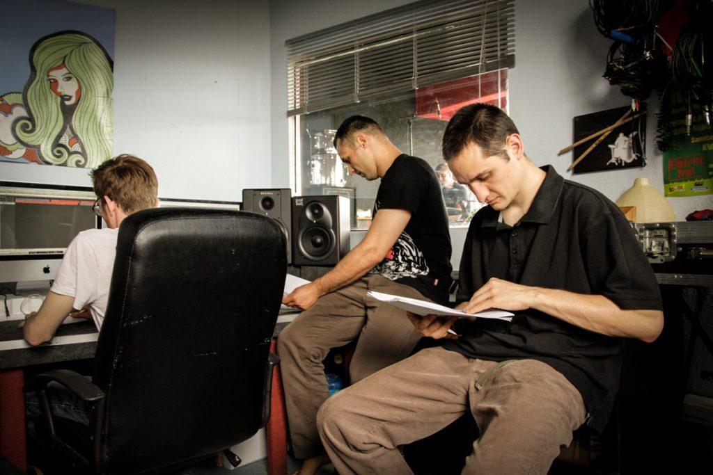 Audioaufnahmen in der Studio