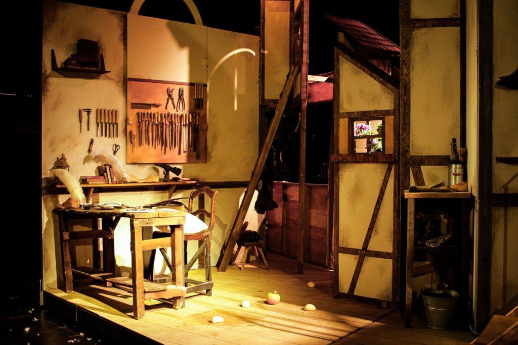 Die Meistersinger von Nürnberg - Bühnenbild - Ivan Ivanov - Kinderoper - Bayreuther Festspiele