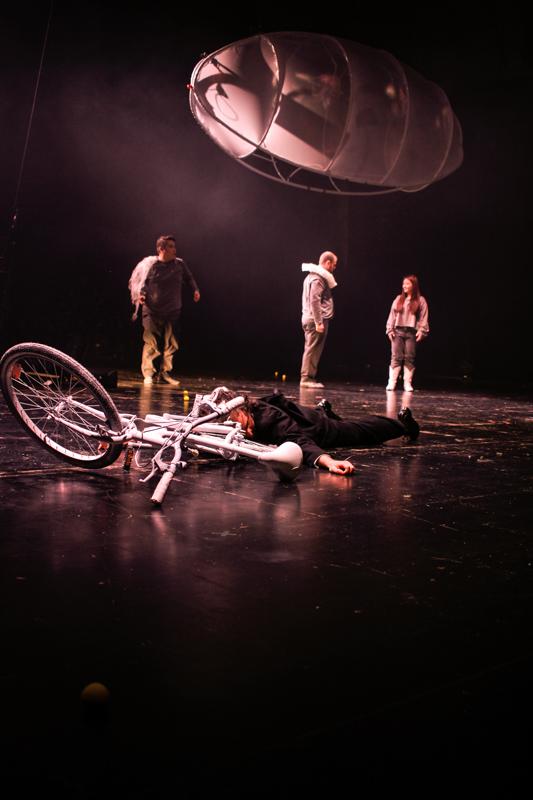"""Bühnenbild für das Oper """"Aufbruch"""" - Neue Szenen IV - Ivan Ivanov - Deutsche Oper Berlin - Tischlerei"""