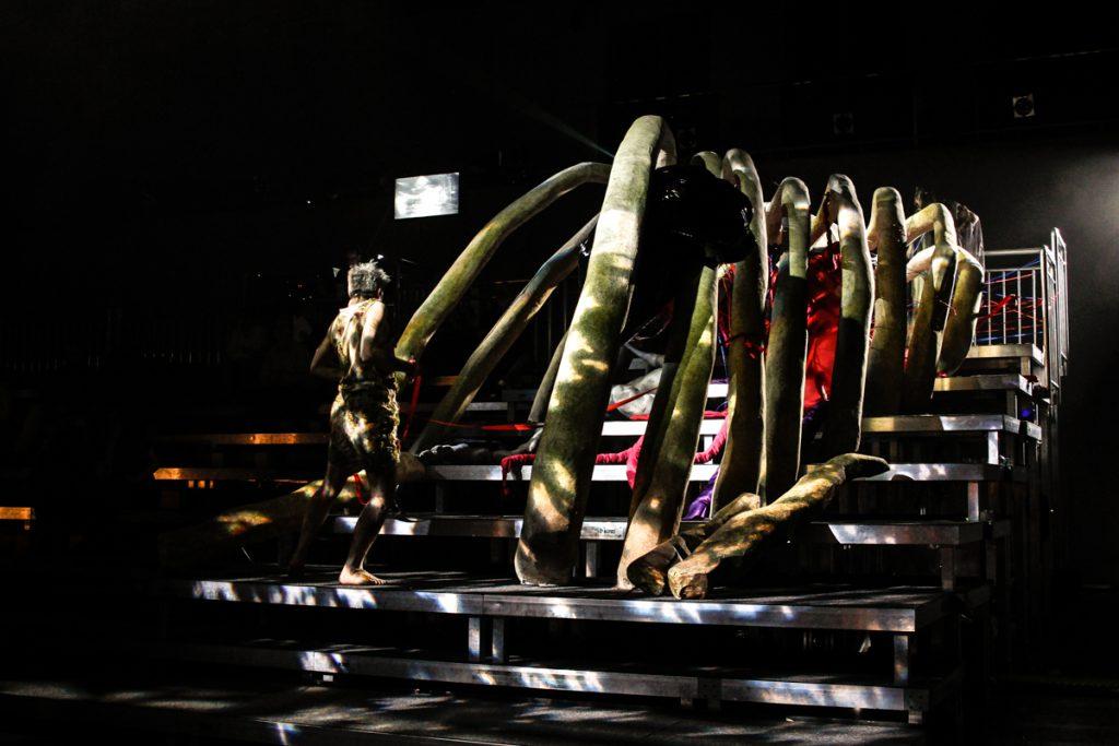 """Bühnenbild für das Oper """"Eurydike"""" - Neue Szenen IV - Ivan Ivanov - Deutsche Oper Berlin - Tischlerei"""