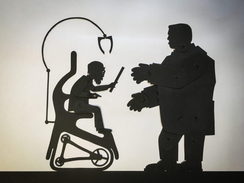 """Basilius und Clothald - Figuren aus dem Animationsfilm """"Das Leben ist ein Traum"""""""