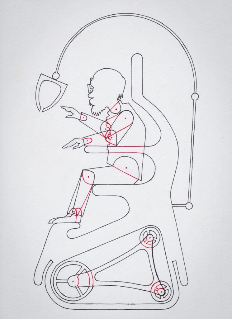 """Basilius - Figur aus dem Animationsfilm """"Das Leben ist ein Traum"""""""