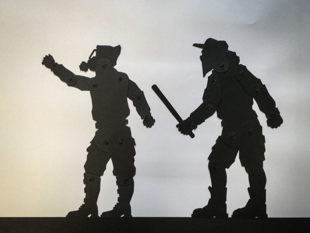 """Soldaten - Figuren aus dem Animationsfilm """"Das Leben ist ein Traum"""""""